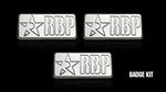 RBP Chrome RBP Badge Kit RBP-954006